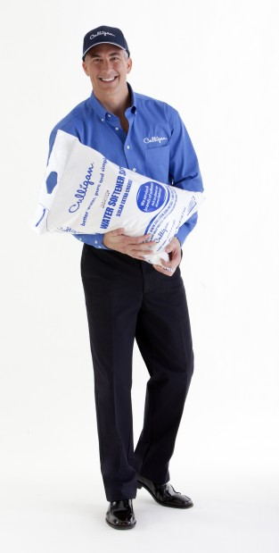 College Station Culligan Man Delivering Salt